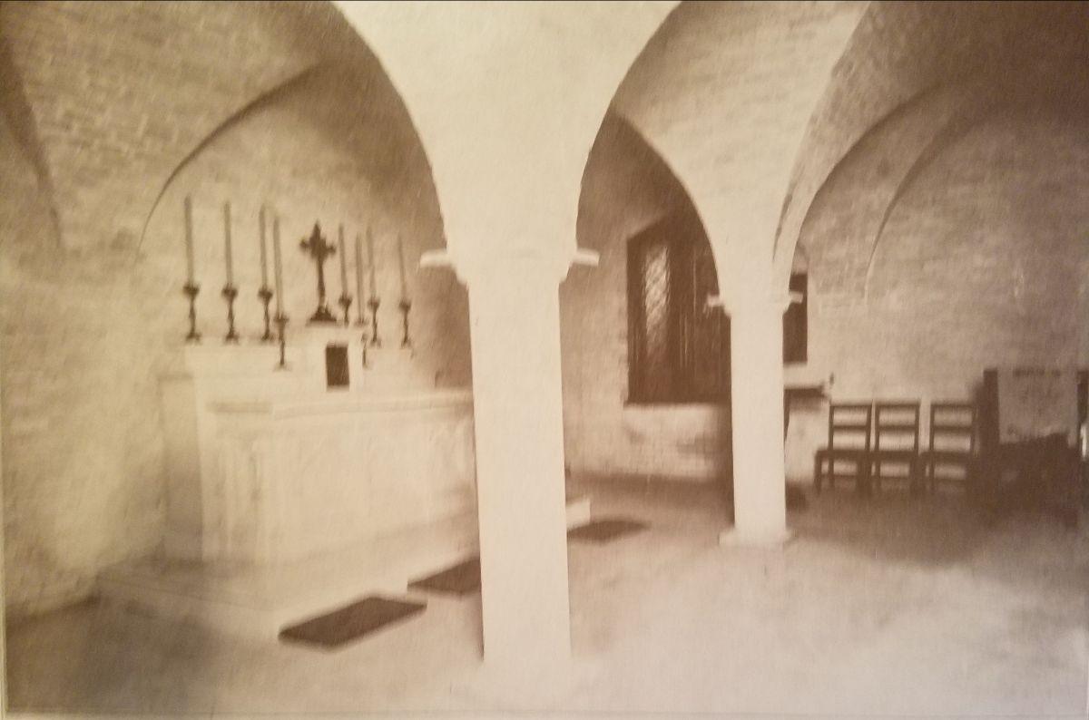 St. James Crypt Chapel 1909
