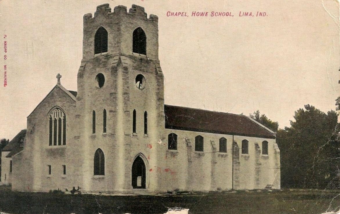 The earliest photo of St. James (1905)