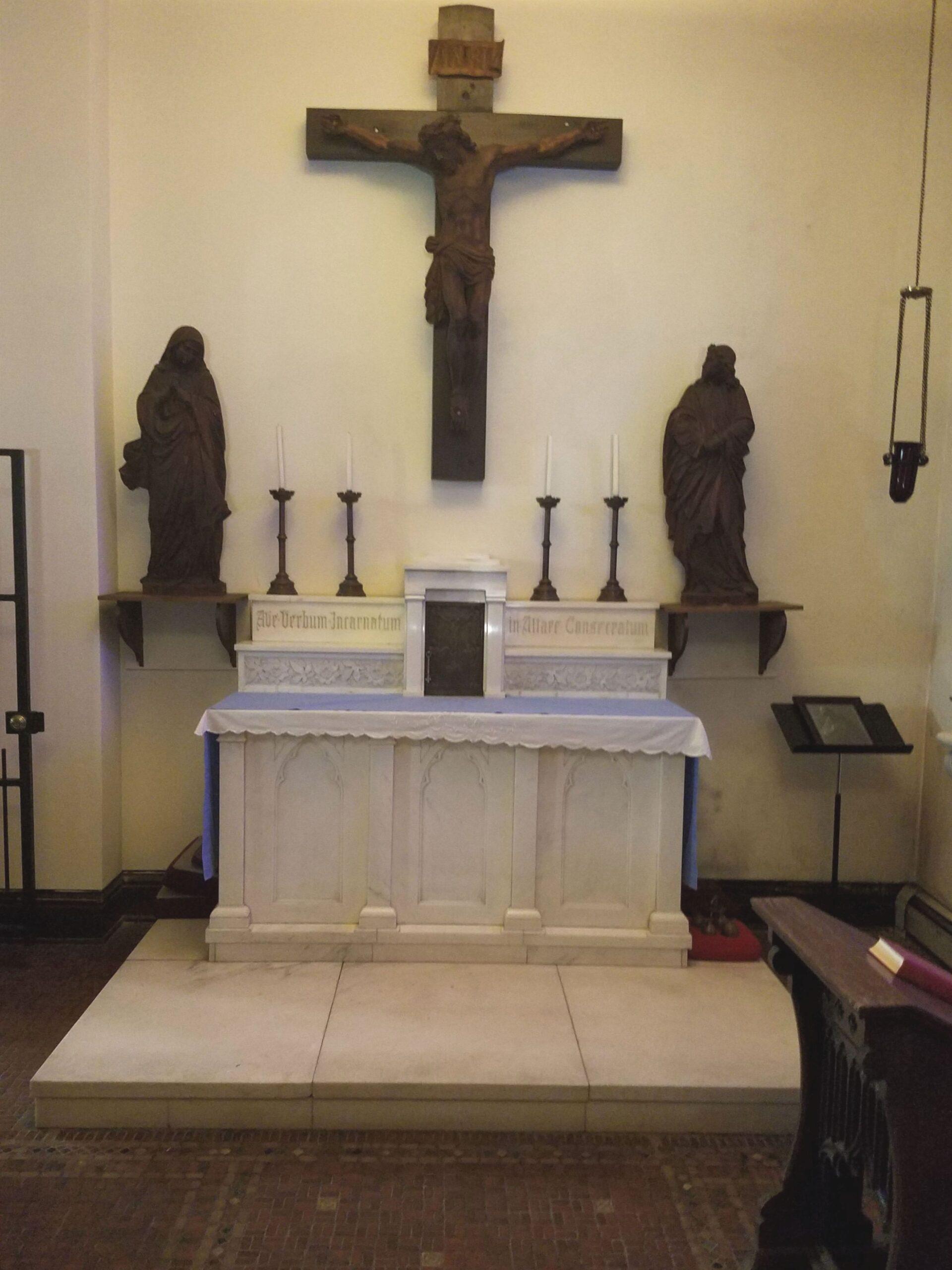 marble altar