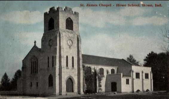 The Mothers' Chapel when new as the south transept, circa 1914.